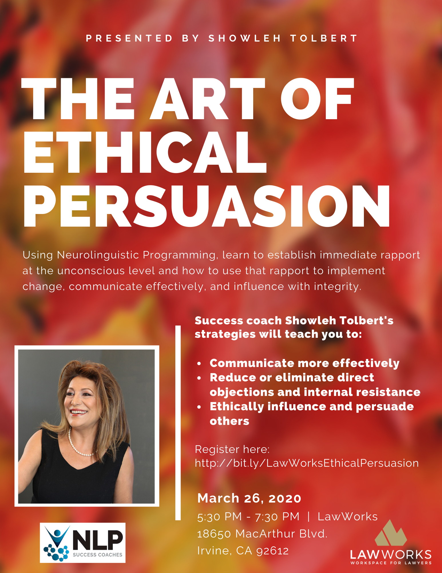 POSTPONED - The Art of Ethical Persuasion