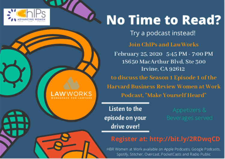 ChIPs and LawWorks - Podcast Discussion